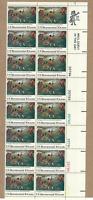 Scott # 1563....10 Cent.... Lexington & Concord....Plate Block of 16 Stamps