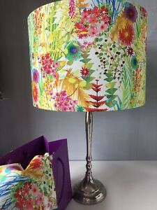 20cm/30cm or 40cm  Lampshade in Liberty of London Tresco Tana Lawn on White