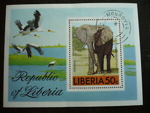 Stamps - Liberia - Scott# C213 - Souvenir Sheet