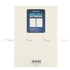 Filofax A5 Size White Squared Notebook Refills Insert Notepaper Organiser-152905