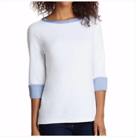 New Nautica Women's Cuff Sleeve Top XXL 3/4 Sleeve