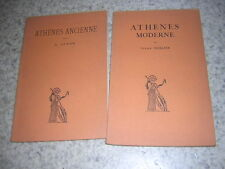 1930.Athènes ancienne / Jardé et moderne / Merlier.Belles lettres