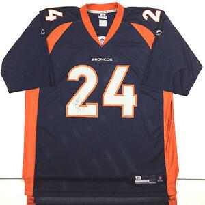 Denver Broncos Mens Jersey Champ Bailey #24 Reebok NFL Players Football Size 2XL