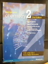 Heinemann CHEMISTRY 2 Student Workbook VCE Units 3 & 4 2nd Edition Textbook VGC