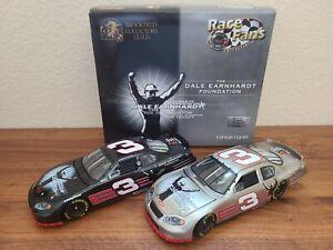 2003 #3 Dale Earnhardt Foundation 2-Car Set Brushed Metal 1/24 Action NASCAR