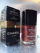CHANEL Rare Vintage 89 ODYSSEE shimmering Copper Nail Varnish New Creased Box