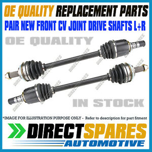 2 Brand New Front CV Joint Drive Shafts for Subaru Liberty 9/03-10/08 incl BL BP