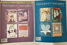 Stampers' Sampler Take Ten Oct/Nov 2007 Issue, Stamped Card Inspiration 2006