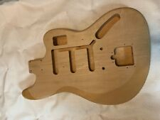 Bass VI body project needs a neck pocket and some cleanup 1 Piece Basswood
