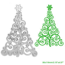 Lace Christmas Tree Cutting Dies Stencil DIY Scrapbooking Album Card Embossing