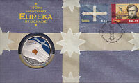 2004 EUREKA Stockade 150th Anniversary FDC/PNC with Limited Edition $5 Coin