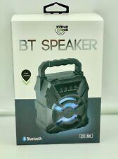 Zone One Mini Bluetooth Speaker Portable Wireless Speaker W/LED LIGHTS!