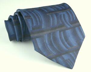 Puritan Blue & Grey Necktie Tie 100% Polyester