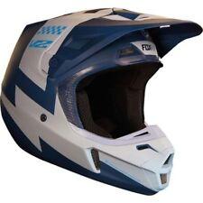 Fox V2 Motocross MX OffRoad Helmet Mastar Navy Adult Small 55-56cm MARKED