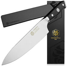 Kessaku Chef Knife Dynasty Series German HC Steel G10 Full Tang Handle, 8-Inch