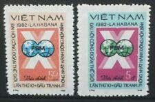 VIETNAM 1982 World Trade Unions Congress. Set of 2. Mint Never Hinged. SG443/444