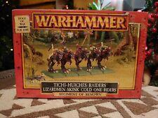 Warhammer fantasy dogs of war Tichi-huichis Raiders Lizardmen (VERY RARE)