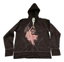 Paul Smith RED EAR Brown  Mens Pop Over Jacket ( Hooded)  Zip fastening