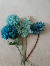 Plastic flowers home decor