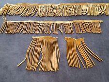 Lot de Galons frange au fil d'or métallisé -  12567