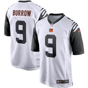 Cincinnati Bengals Jersey Men's Nike Alternate Jersey - Burrows 9 - New