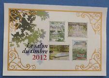 Bloc feuillet jardin doré n° 132 de 2012