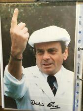 Dickie Bird - Legendary Umpire Signed 12x8 Photo Cricket