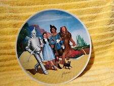 wizard of oz collectible plates