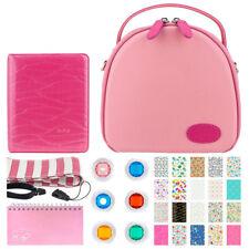Camera Bag Case For Fuji Instax Mini 9 Fits Camera + Accessories Top Value Kit!