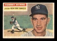 1956 Topps Set Break # 215 Tommy Byrne EX *OBGcards*