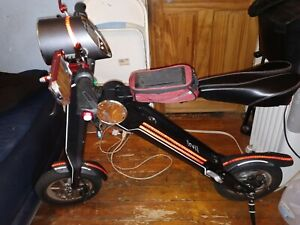 electric bike, electric scooter, Uber scuuter plus, scoot ebike, foldable EBike