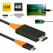Tipo-C USB-C a 4K HDMI HDTV TV Cable Adaptador Para Samsung Galaxy S10 Note 9 Mac