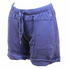 PANTALONCINI DONNA DIMENSIONE DANZA TG. M BLU BERMUDA WOMAN shorts PANTALONCINO