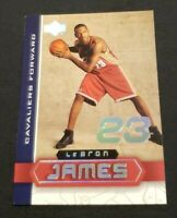Lebron James 2003-04 Upper Deck Superstars Rookie Insert LBJ-3