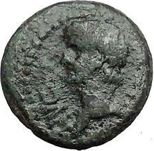 CLAUDIUS 41AD Philippi Macedonia PRIESTS w OXEN Found Colony Roman Coin i56332