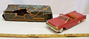 AMT 1959 MERCURY PARK LANE CONVERTIBLE PROMO CAR BOXED