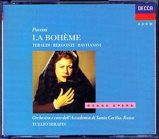 Puccini: la Boheme Renata Tebaldi CARLO LOSI Corena CESARE SIEPI Serafin 2cd
