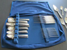 Gorham Camellia Sterling Flatware, 85 Pieces, Service For 8 Plus Serving
