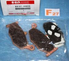2 plaquettes de frein arrière d'origine SUZUKI GSR 600 de 2006/2010 69101-44830
