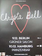 Chrysta Bell 2013  Original Concer/Promo Poster DIN A 1 = 84 x 60 cm