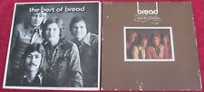 Bread  [Lot of 2 LPs]:   The Best Of Bread / Baby I'm A Want You