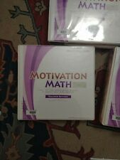 Motivation Math level 3 Teacher Edition homeschool answers transparencies