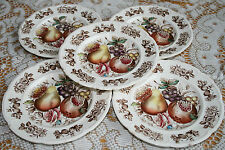 Johnson Brothers, WINDSOR FRUIT, 5 bread plates , Johnson Bros, Windsor ware