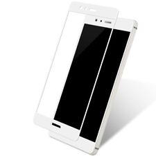 Huawei P8 Lite 2017 3D Panzer Glas Folie Display Schutzfolie Echtglas Case Weiß