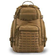 Highland Tactical Roger Tactical Travel Backpack Laser Cut Molle Webbing Desert