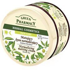 5,66EUR/100ml GREEN PHARMACY mattierende Gesichtscreme grüne Tee0%Parabene 150ml