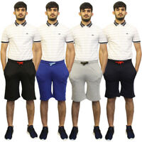 Mens Jogger Sports Running Gym Plain Summer Beach Fleece Jersey Jogging Shorts