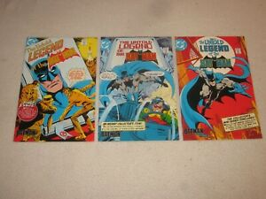 THE UNTOLD LEGEND OF THE BATMAN 1 2 3 CEREAL PROMOTIONAL COMIC