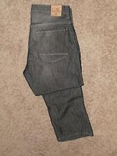 PD& C - Authentic Slim Straight Denim Jeans, size: 36/32, Hendrix Black