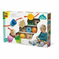 Ses Creative INFANTIL Pequeño Posesivos Cordón Sensorial Cuentas Set Juguete (
